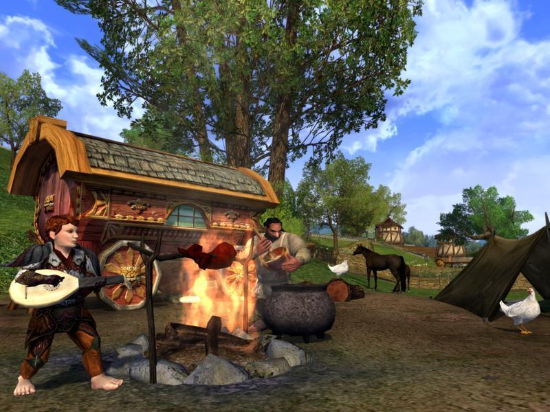 Il Signore degli Anelli Online: Le Ombre di Angmar - Si lavora
