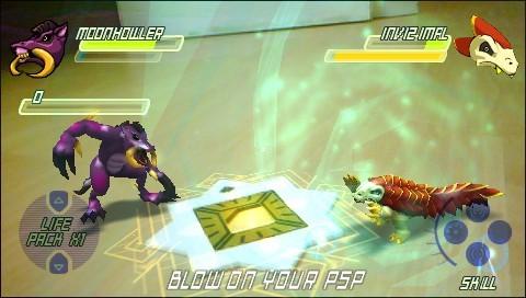 Invizimals - Screenshots PSP