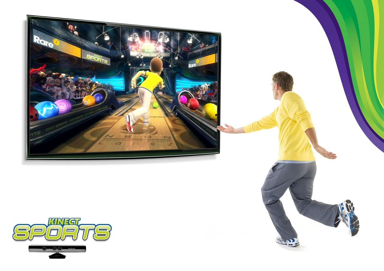 Kinect Sports - Kinect in azione