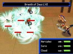Kingdom Hearts Re:Coded - Immagini del lancio