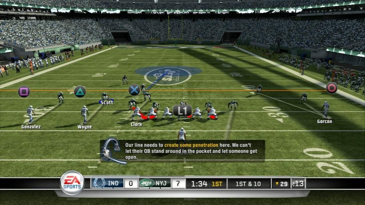 Madden NFL 11 - Dal gameplay