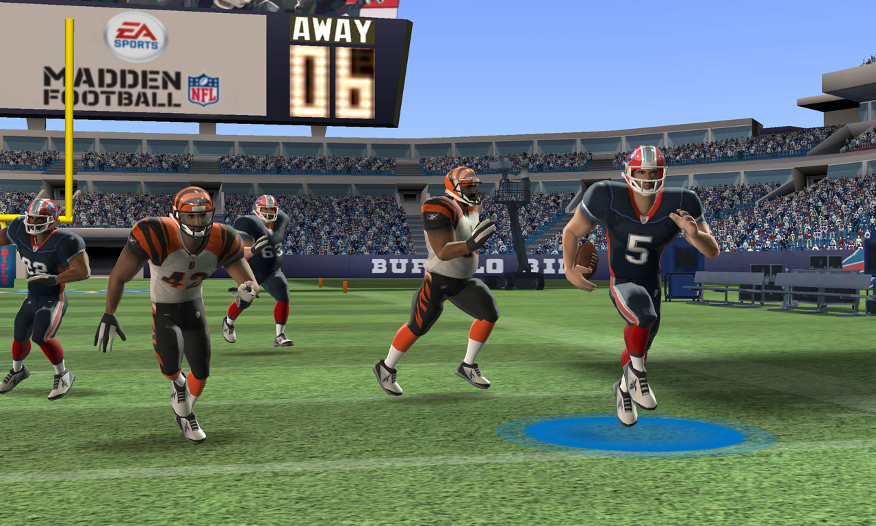 Madden NFL 3DS - Dal campo