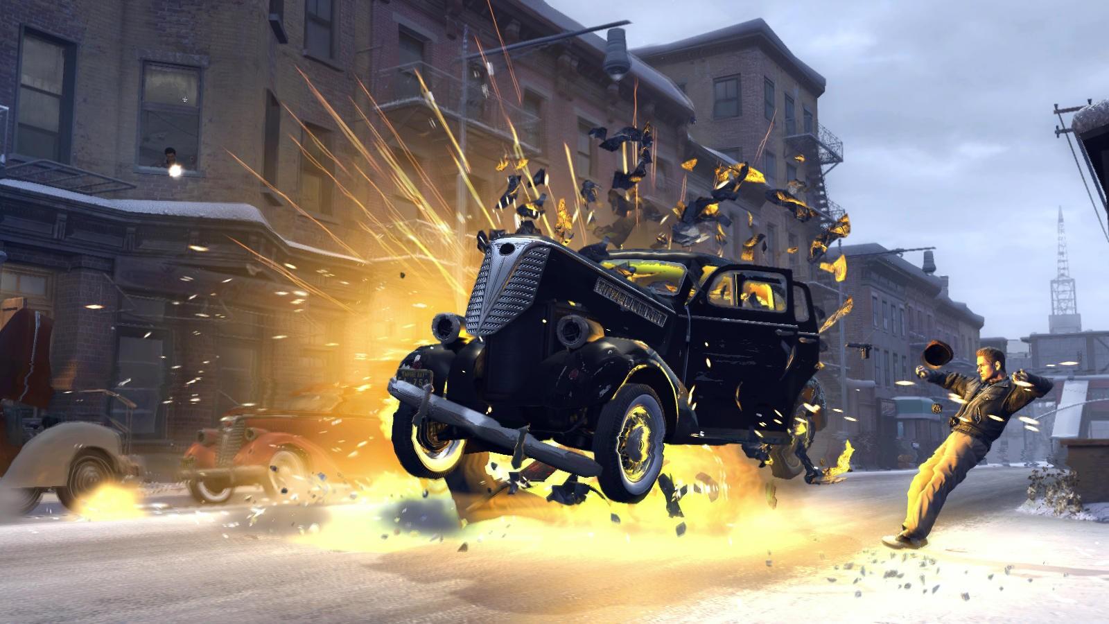 Mafia II - Esplosioni