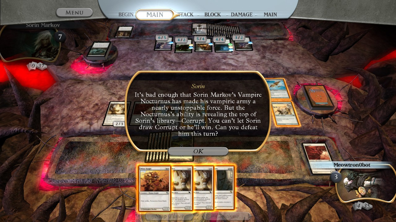 Magic the Gathering: Duels of the planeswalkers - Screens