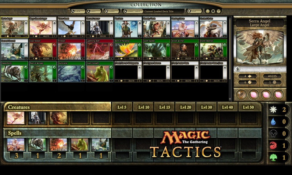 Magic: The Gathering Tactics - Screenshots