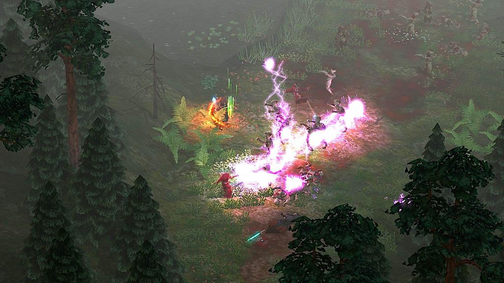 Magicka - Azioni e ambienti