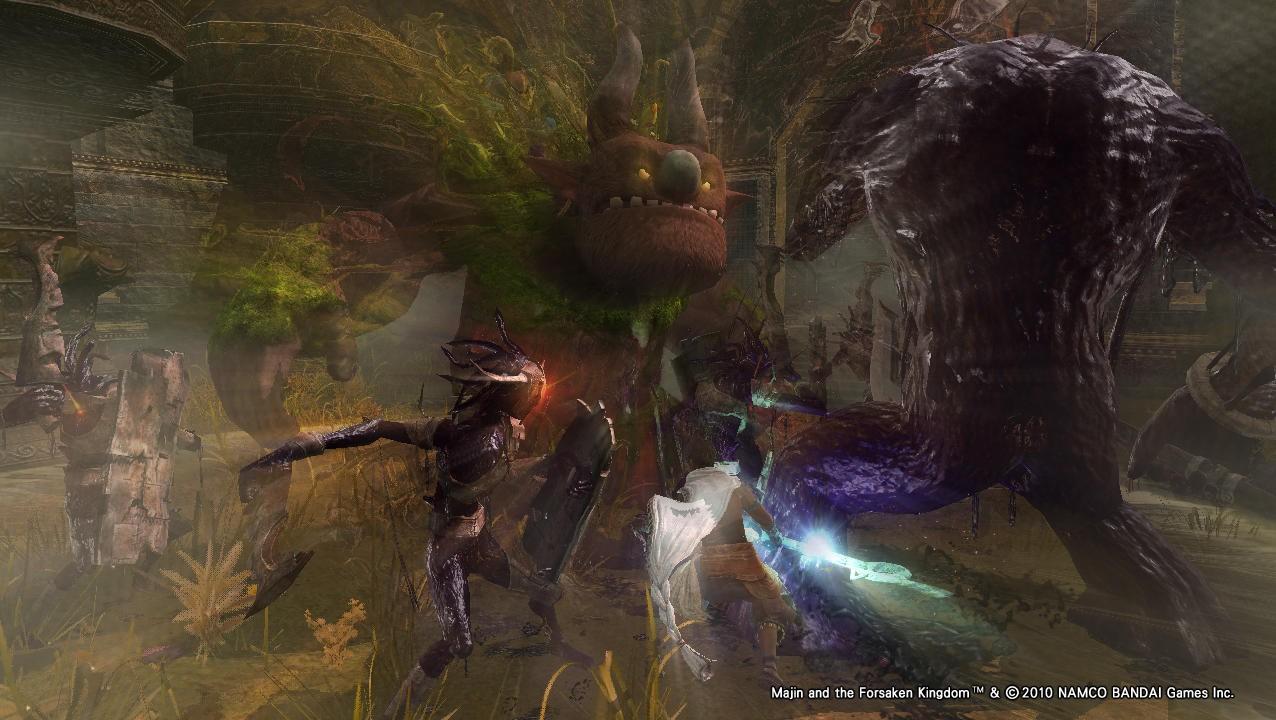 Majin and the Forsaken Kingdom - In cammino
