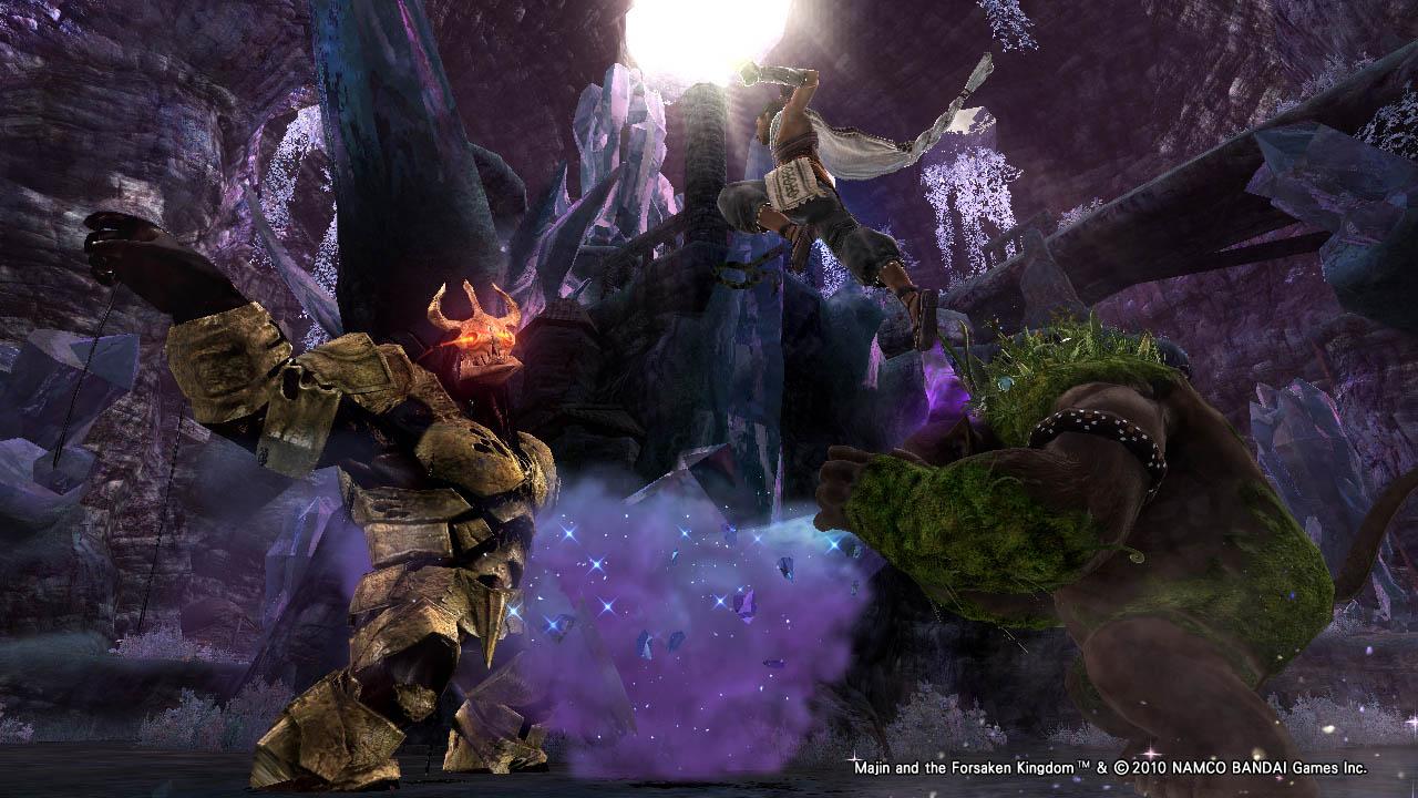 Majin and the Forsaken Kingdom - Screens