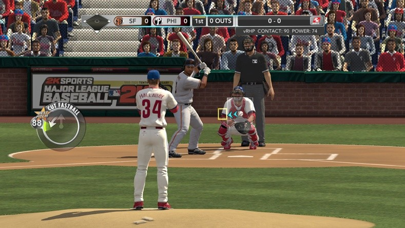 Major League Baseball 2K10 - Sul diamante!