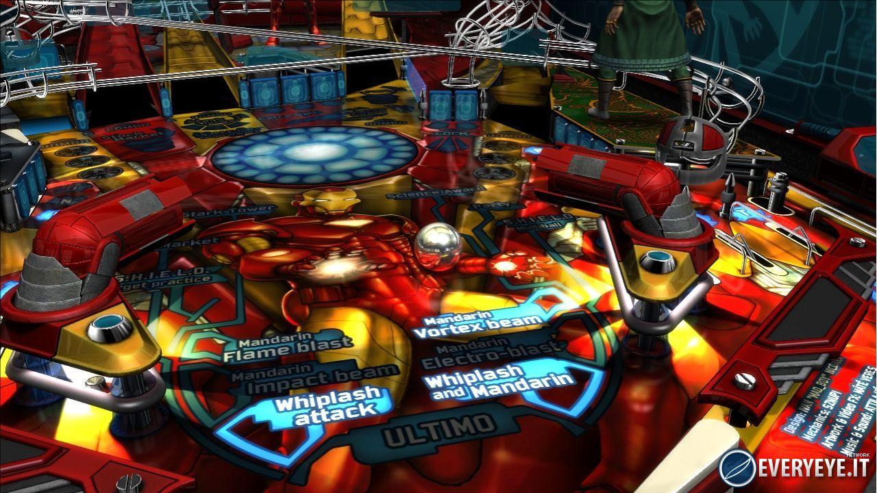 Marvel pinball - galleria dei flipper #2