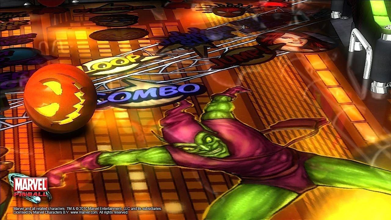 Marvel pinball - Spyder Man