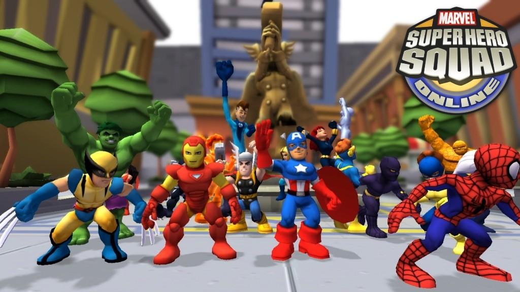 Marvel Super Hero Squad Online - Supereroi