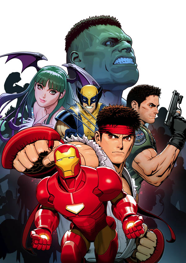 Marvel vs. Capcom 3 - Artwork del gioco
