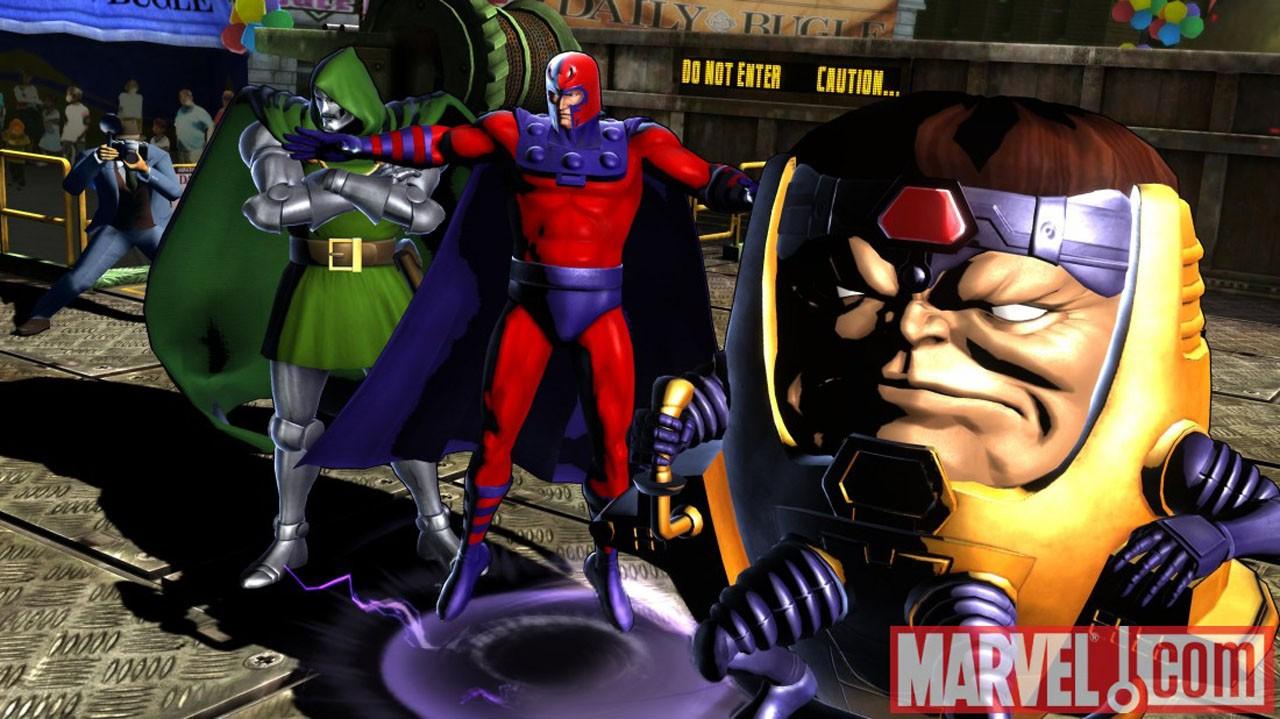 Marvel vs. Capcom 3 - Magneto e Modok