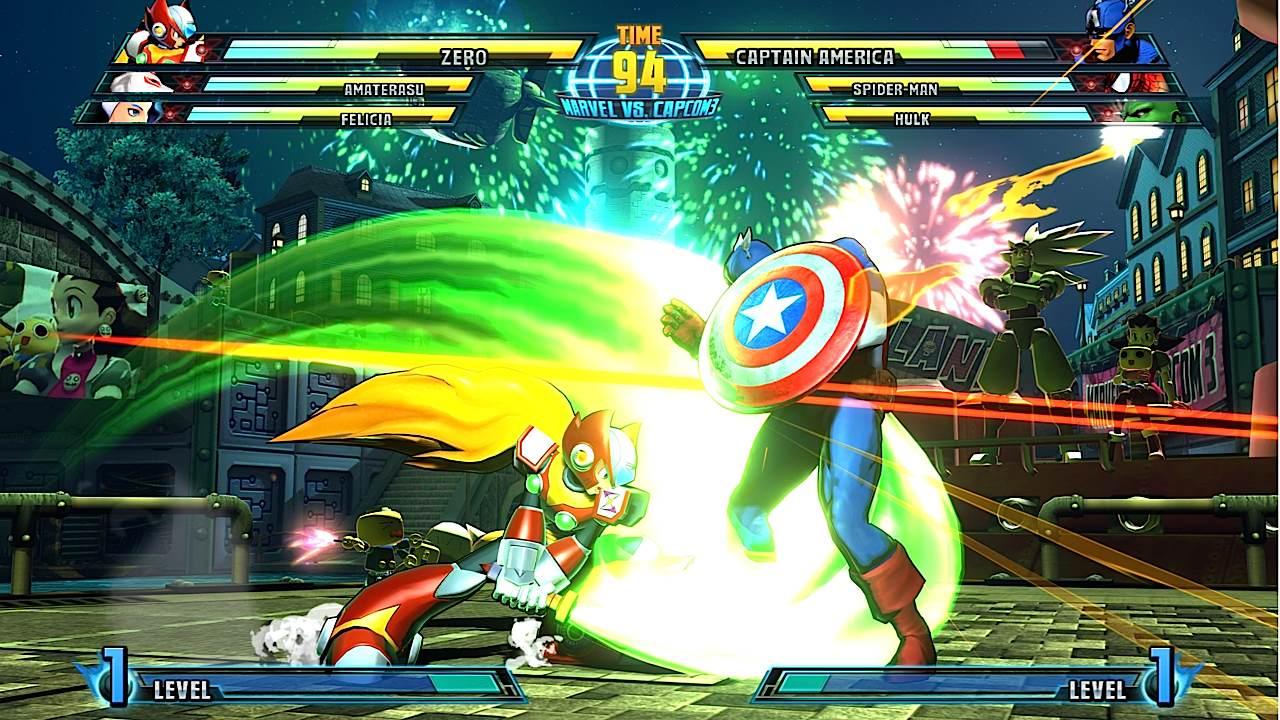 Marvel vs. Capcom 3 - She-Hulk and Zero