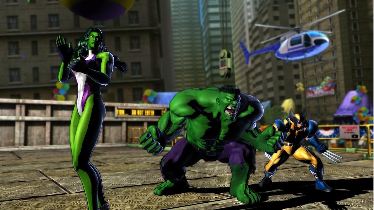 Marvel vs. Capcom 3 - She-Hulk