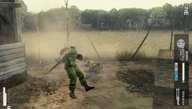 Metal Gear Solid : Peace Walker - In Game