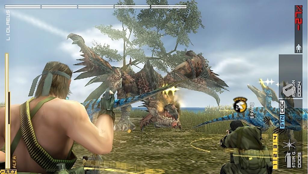 Metal Gear Solid: Peace Walker - Contro i mostri