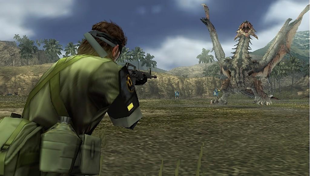 Metal Gear Solid: Peace Walker - Monster Hunter
