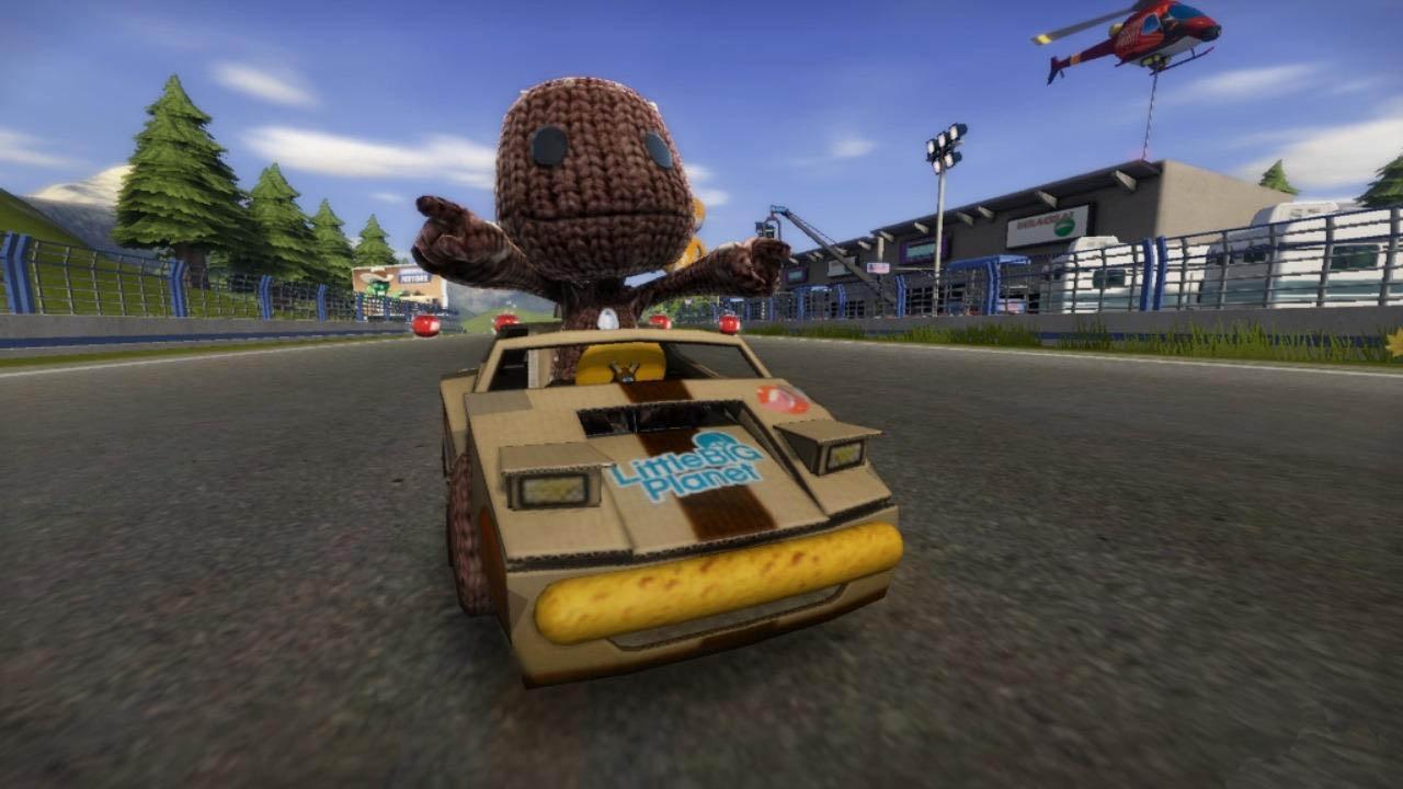 ModNation Racers - Sackboy