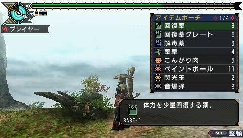 Monster Hunter 3 Portable - Cacciatori di mostri