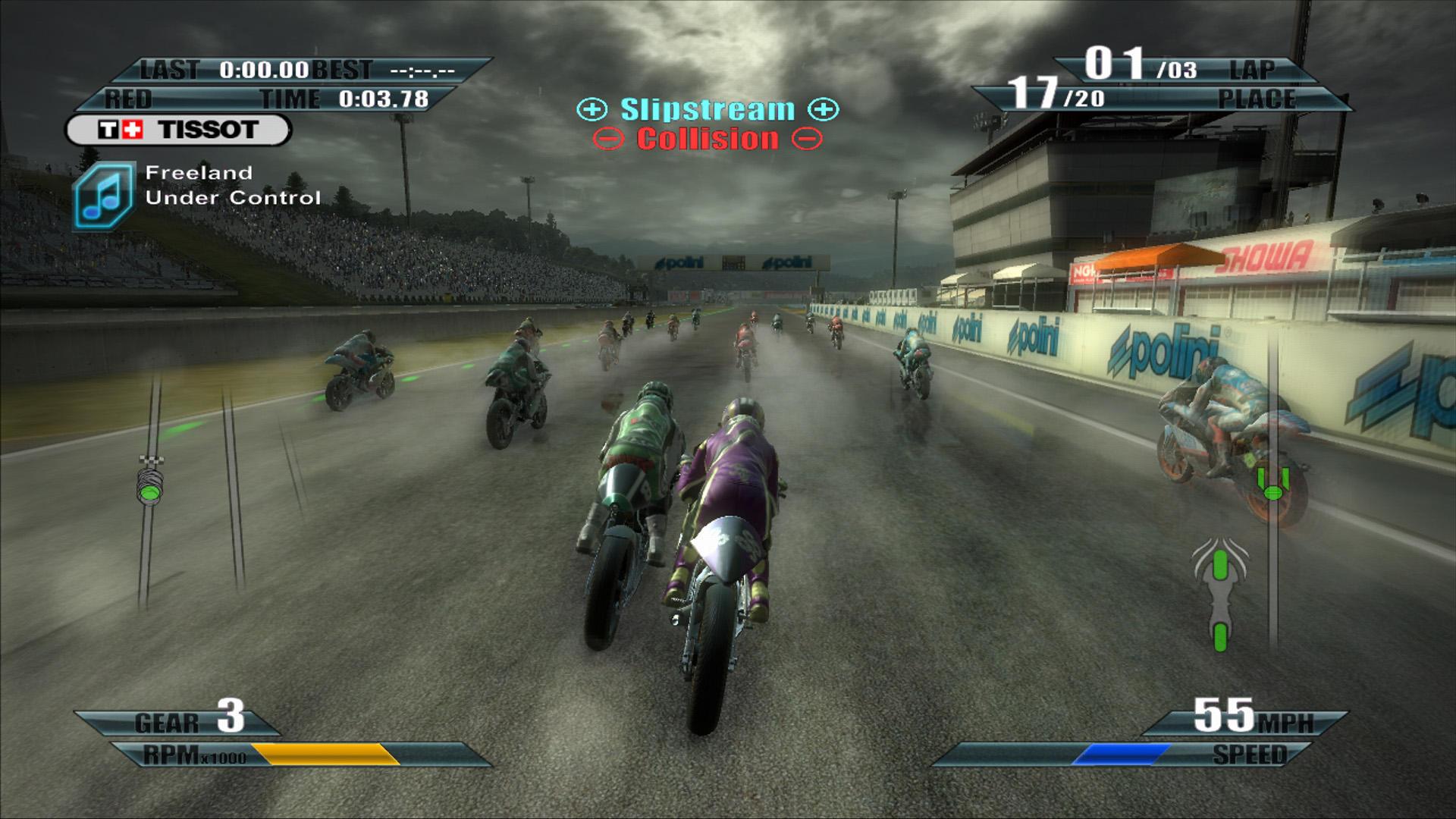 Moto GP 09/10 - Sorpassi in pista