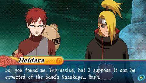 Naruto Shippuden: Ultimate Ninja Heroes 3 - Ninja