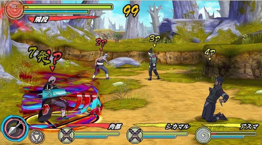Naruto Shippuden: Ultimate Ninja Heroes 3 - Primi Screen