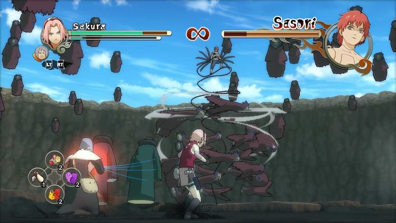 Naruto Shippuden: Ultimate Ninja Storm 2 - Xbox Screens