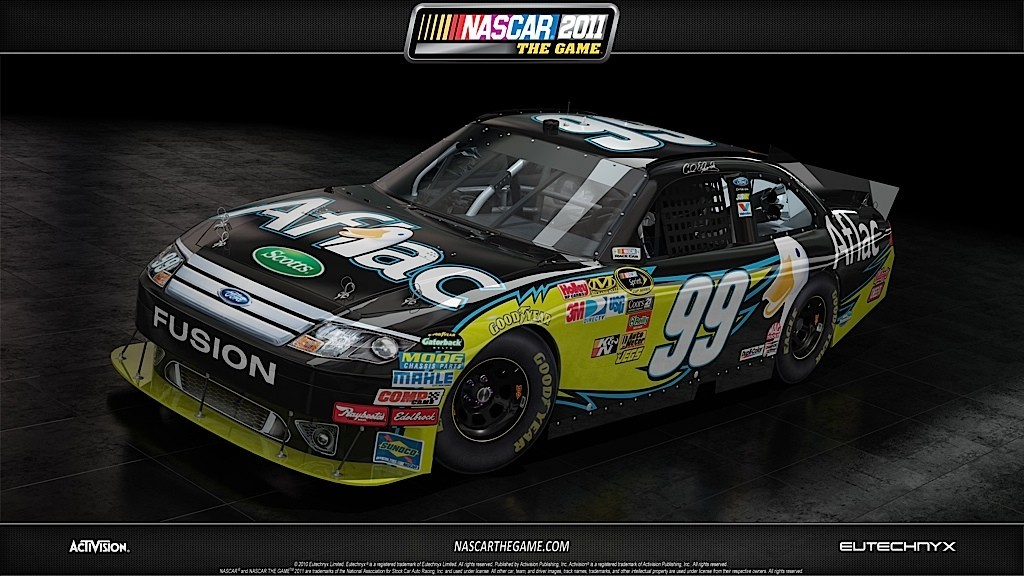NASCAR The Game 2011 - Alcune auto