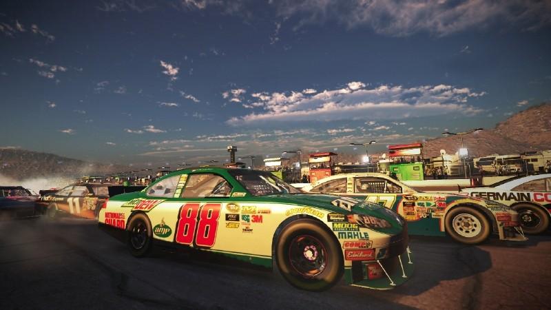 NASCAR The Game 2011 - Sorpassi in curva