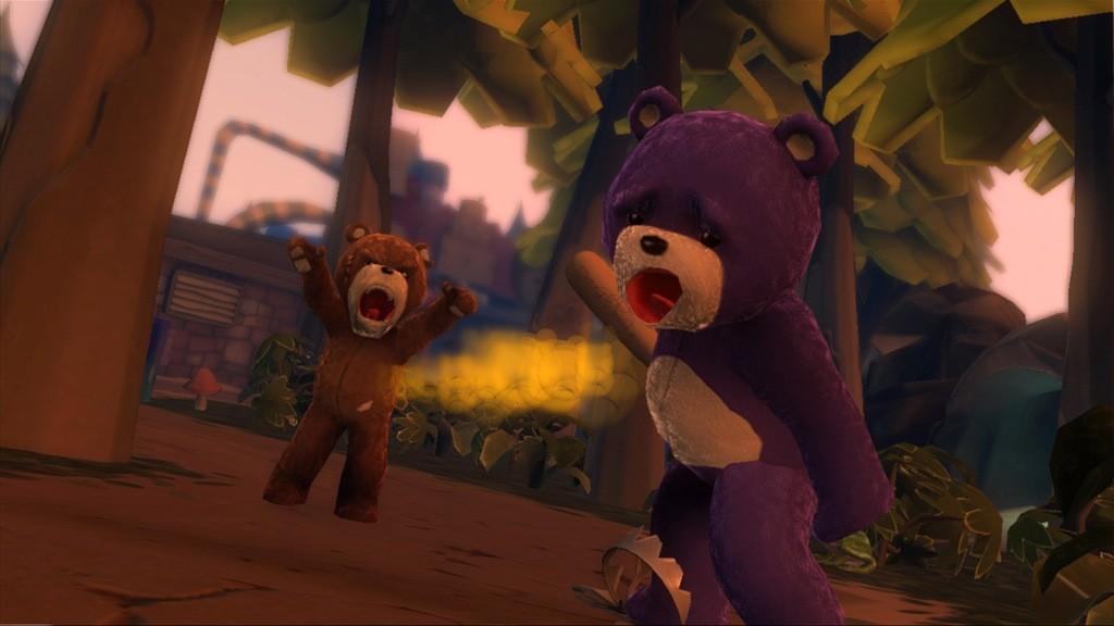 Naughty Bear - Botte da... orsi!