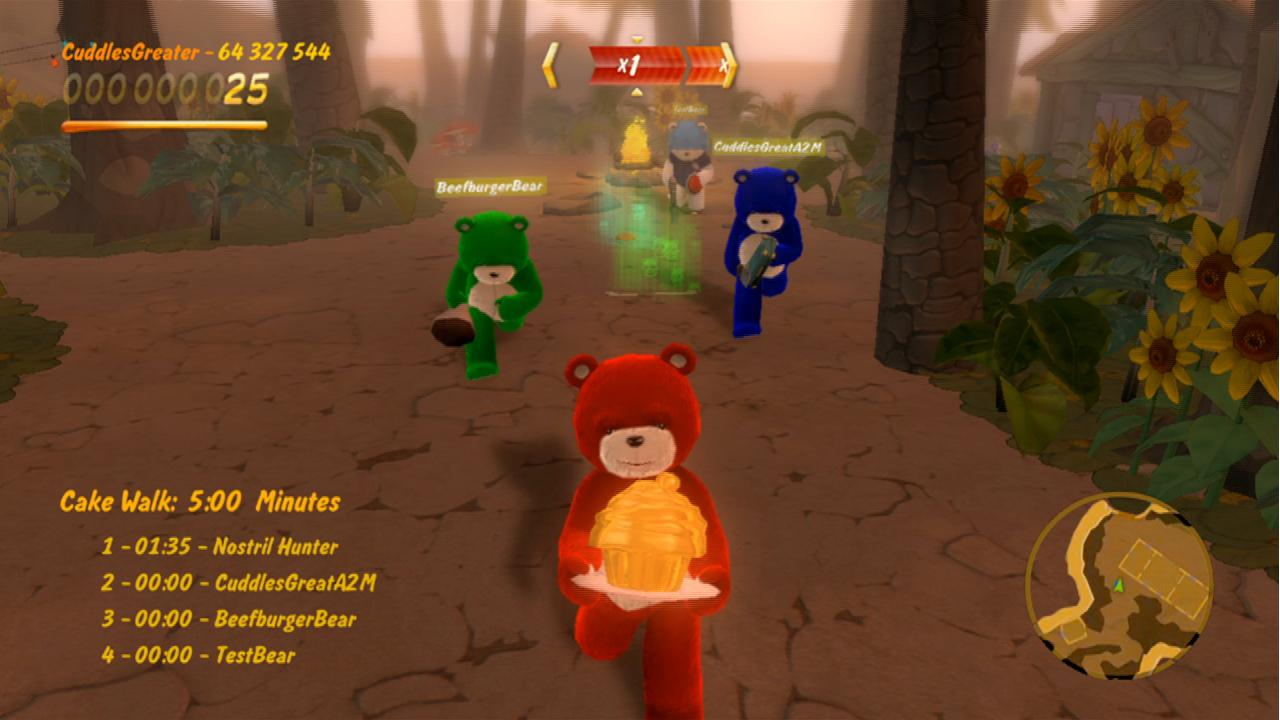 Naughty Bear - Screenshots del multiplayer