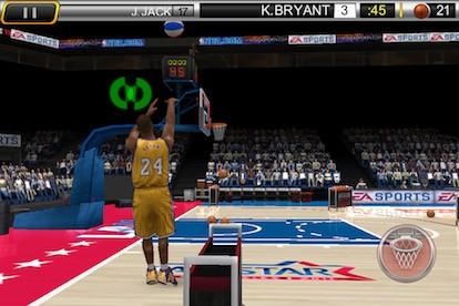 NBA Elite 11 - iPhone Screenshots