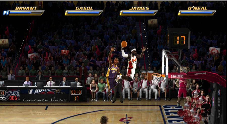 NBA Jam - Bryant vs. James