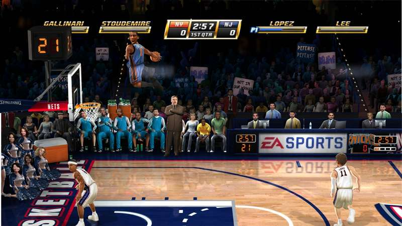 NBA Jam - Canestri da restare a bocca aperta!