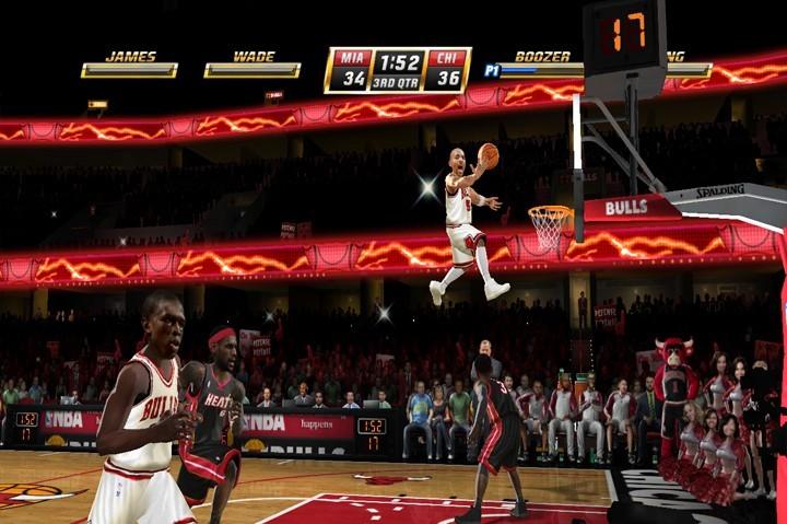 NBA Jam - Miami Heat e Chicago Bulls