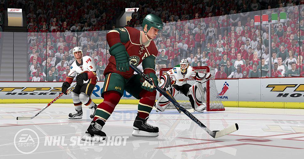 NHL Slapshot - Ghiaccio Wii