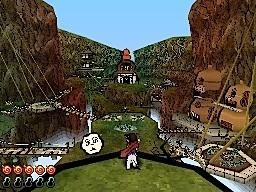 Okamiden - Immagini del gameplay