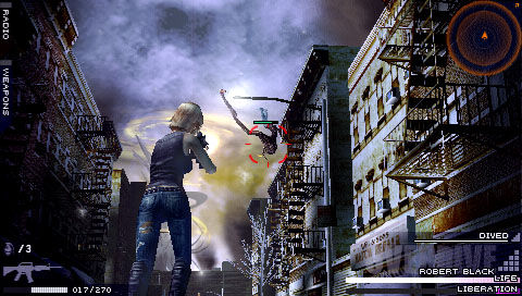 Parasite Eve: The 3rd Birthday - In game