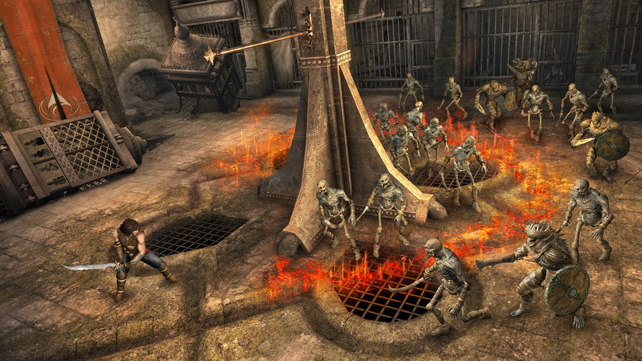 Prince of Persia: le Sabbie Dimenticate - Scheletri