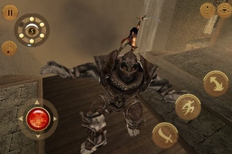Prince of Persia: The Warrior Within - iPhone - Screens