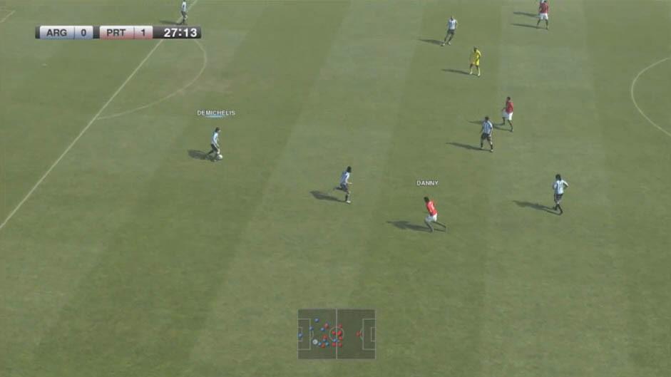 Pro Evolution Soccer 2011 - Immagini dalla Demo