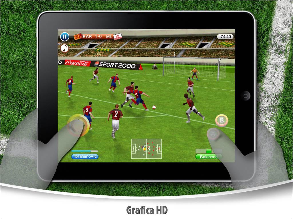 Real Football 2010 - Azioni e spettacolo per iPad