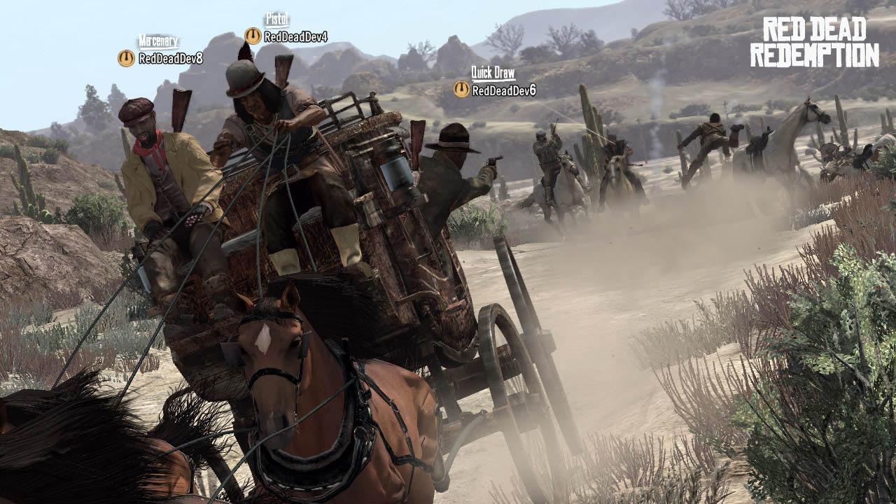 Red Dead Redemption - Co-op Multiplayer DLC