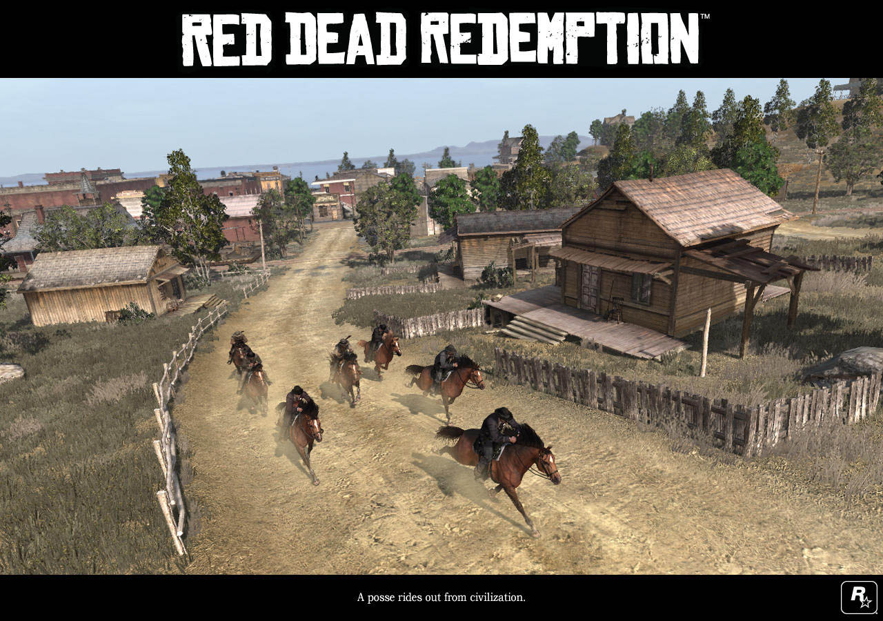 Red Dead Redemption - Immagini del gameplay