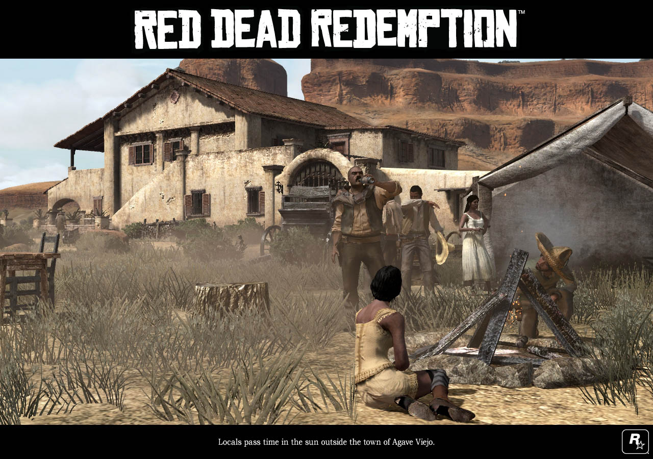 Red Dead Redemption - Luoghi del West