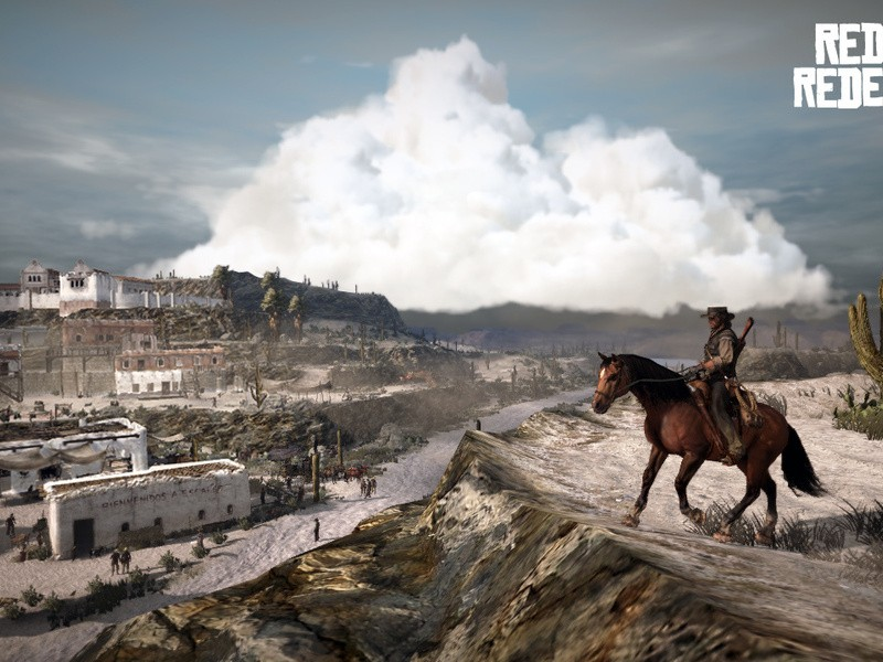 Red Dead Redemption - Ombre rosse