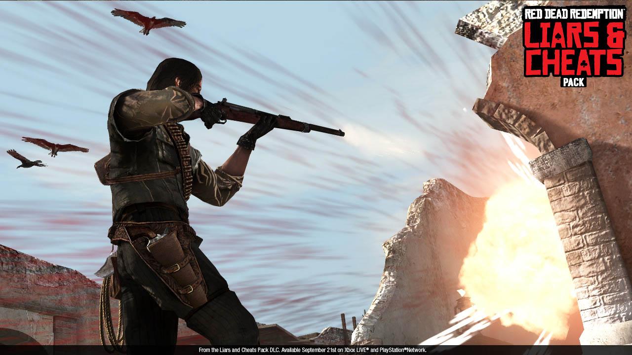 """Red Dead Redemption - Screenshots del DLC """"Bari e Bugiardi"""""""