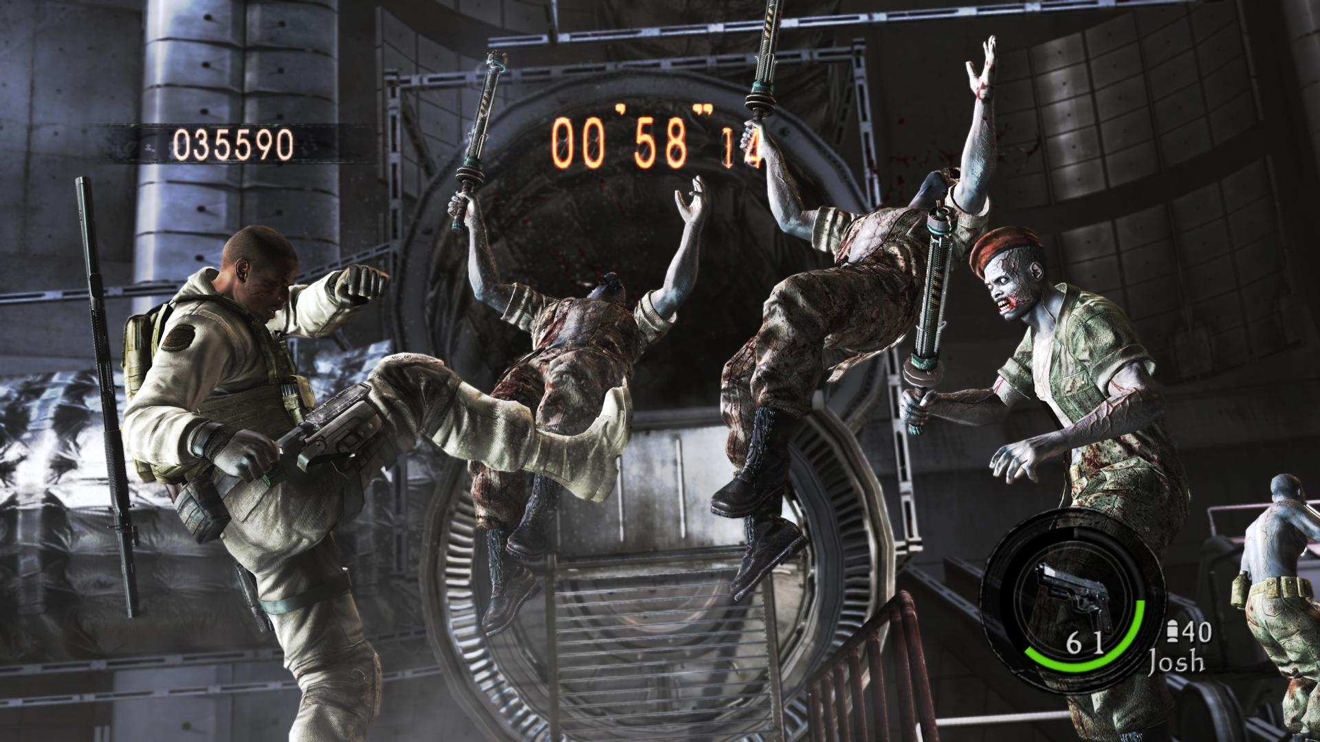 Resident Evil 5 - Altro che femminucce...
